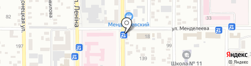 МСЛ на карте Макеевки
