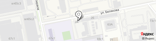 Евродизель на карте Балашихи