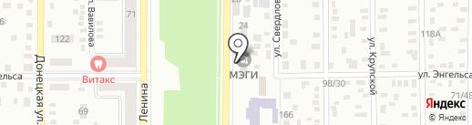Главное управление градостроительства и архитектуры, Макеевский городской совет на карте Макеевки