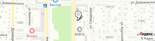Адвокатский кабинет Забелин В.В. на карте Макеевки