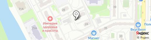 Новостройка на карте Балашихи
