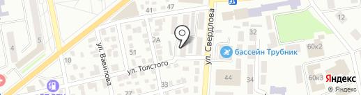 Адвокатские кабинеты Максимовой Н.Н. на карте Макеевки
