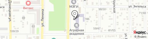 Макеевский экономико-гуманитарный институт на карте Макеевки
