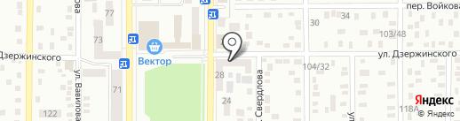 Маклеръ на карте Макеевки