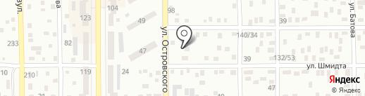 Экватор на карте Макеевки