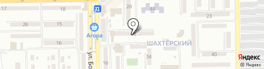 Полісся на карте Макеевки