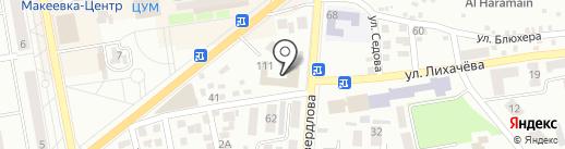 Прокуратура Горняцкого района г. Макеевки на карте Макеевки
