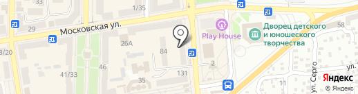 Мед-Сервис на карте Макеевки