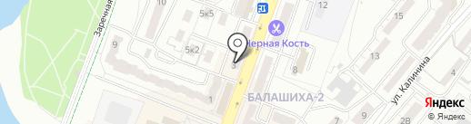 Интрефарм-АА на карте Балашихи
