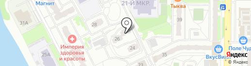 Новостройка, ТСЖ на карте Балашихи
