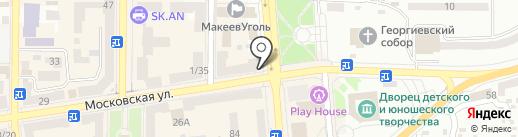 Пан ХОТ ДОГ на карте Макеевки