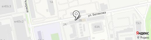 Аква Чистая на карте Балашихи
