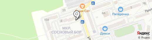 Фасоль на карте Октябрьского