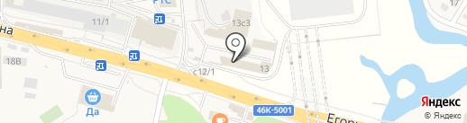СВС-Пром на карте Томилино