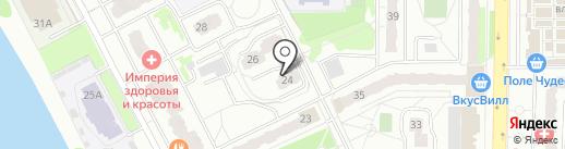 Заречная-24, ТСЖ на карте Балашихи