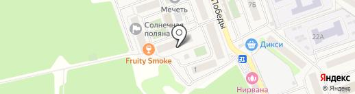 Витус на карте Октябрьского
