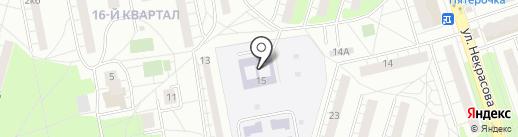 Детский сад №34, Рябинка на карте Балашихи