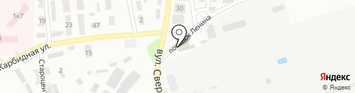 Лилея на карте Макеевки