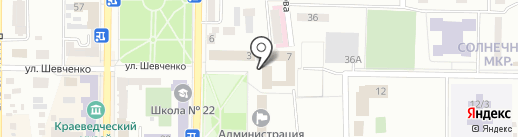Маяк на карте Макеевки