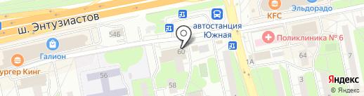 Магазин тканей и текстиля для дома на карте Балашихи