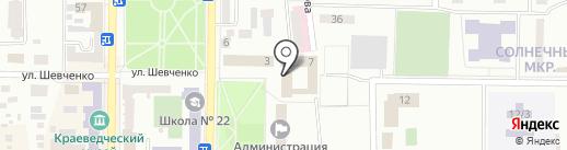 Битнет на карте Макеевки