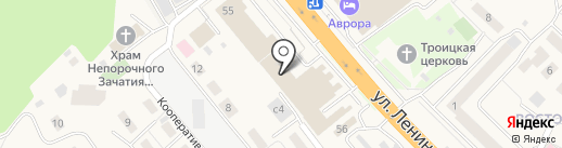 Форема на карте Октябрьского