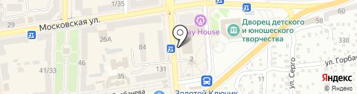 Шарм на карте Макеевки