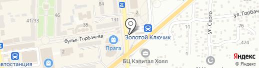 Городской транспорт на карте Макеевки