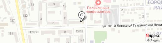 Час Пик на карте Макеевки