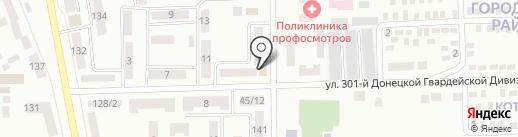 Пик чистоты на карте Макеевки
