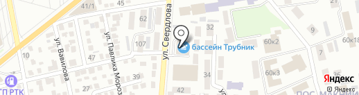 Поток на карте Макеевки