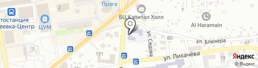 Ясли-сад №32 на карте Макеевки