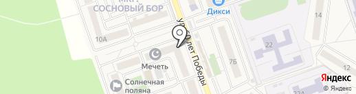 Мастерская по изготовлению ключей на карте Октябрьского