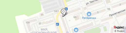 ЗдравСити на карте Октябрьского