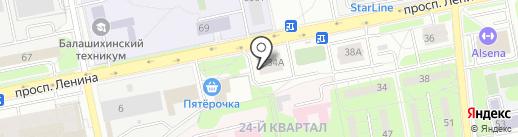 The Family на карте Балашихи