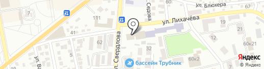 Адвокатский кабинет Воробей Е.Л. на карте Макеевки