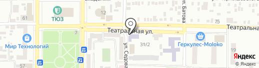 Детский сад №4 на карте Макеевки