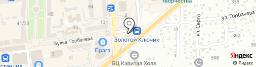 Элика на карте Макеевки