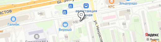 Колобок на карте Балашихи