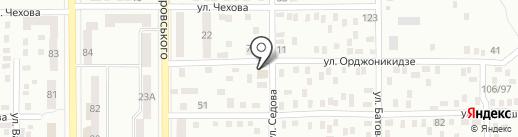 Барвиха на карте Макеевки