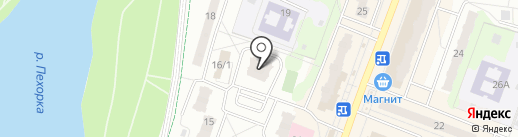 Жуль Верн на карте Балашихи