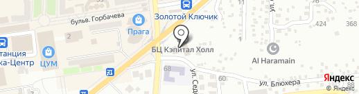 ДонТЭК на карте Макеевки