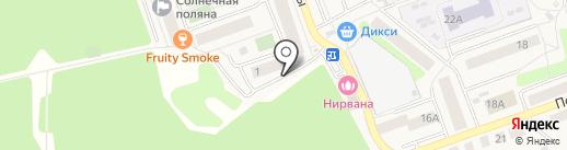 Образовательный центр на карте Октябрьского