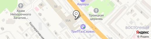 Студия Кухни на карте Октябрьского