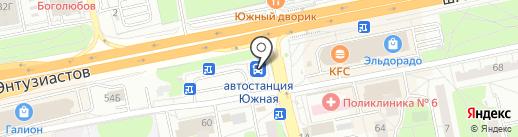 Мособлтрансагентство на карте Балашихи