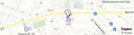 АЗС ВиD Макоил на карте Макеевки