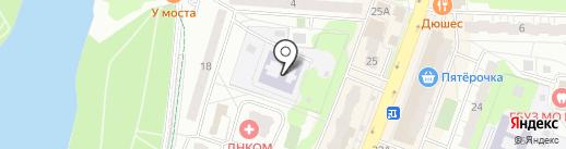 Детский сад №38, Познание на карте Балашихи
