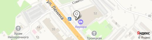 Торино на карте Октябрьского