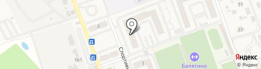 Выручалочка на карте Октябрьского
