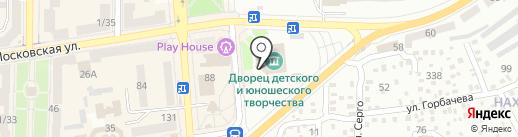 Городской дворец детского и юношеского творчества им. В.Г. Джарты на карте Макеевки